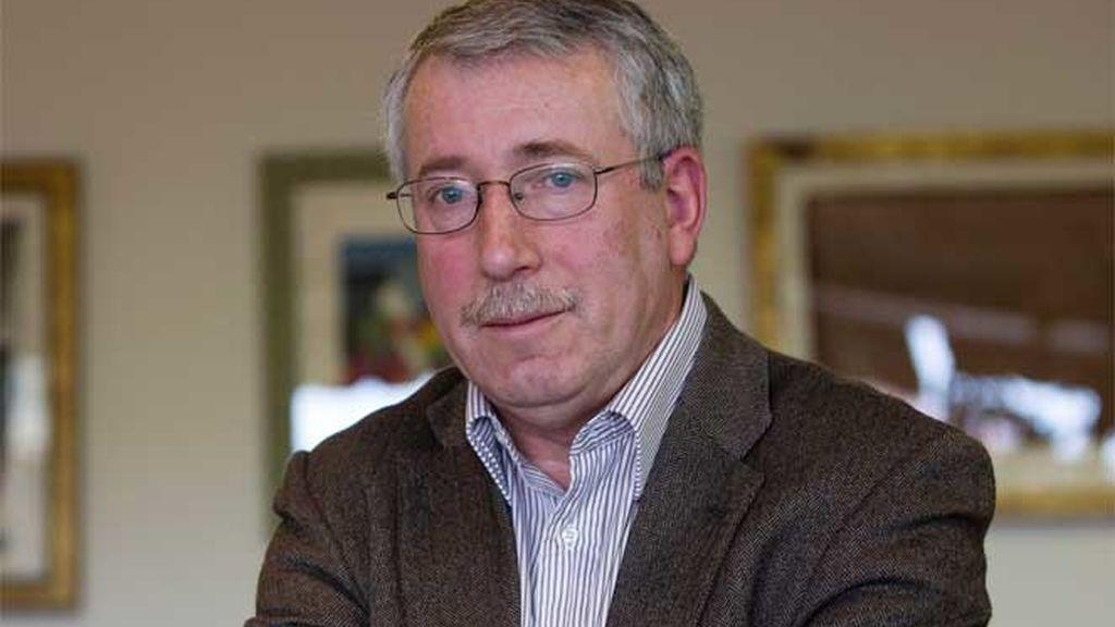 Fernández Toxo, secretario general de CC.OO.