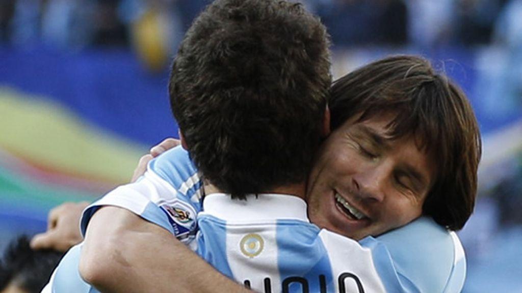 Higuaín y Messi, la cara y la cruz en cuanto a efectividad goleadora