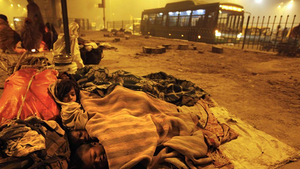 La pobreza en Delhi