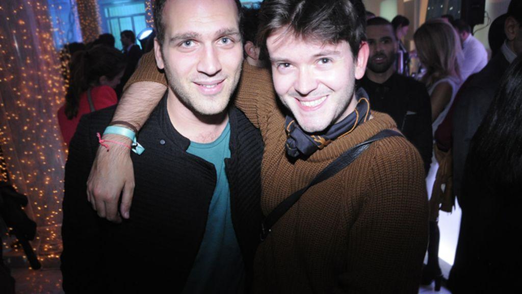 Nico Crison y Antonio Díaz