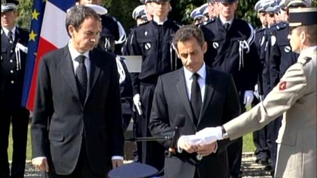 Funeral por el policía francés asesinado por ETA