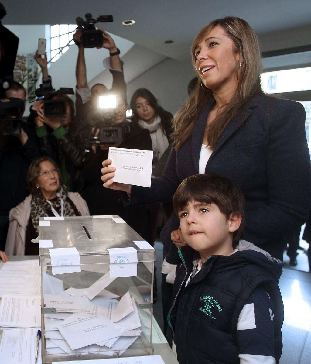La candidata del PPC a la presidencia de la Generalitat, Alicia Sánchez-Camacho