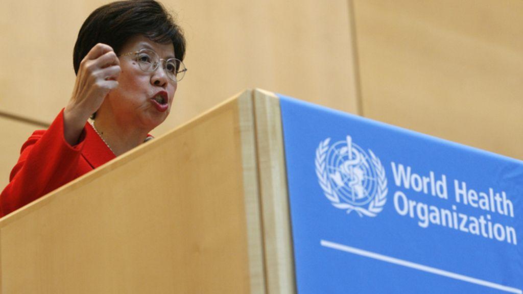 Margaret Chan durante la Asamblea Mundial de la Salud