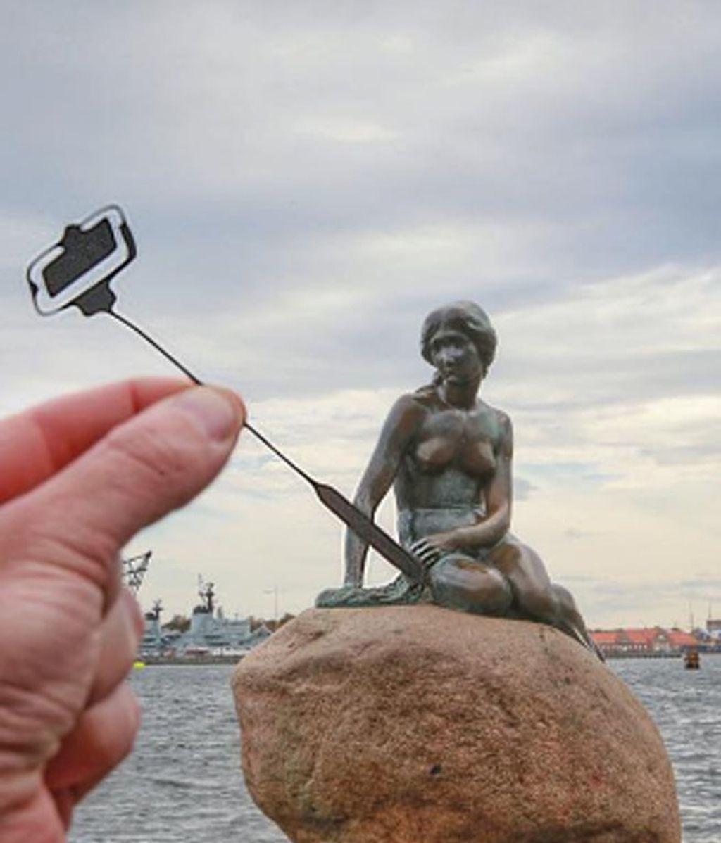 La Sirenita de Copenhague más moderna que nunca