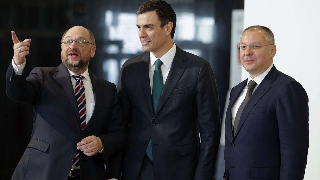 Sánchez ante sus colegas europeos: Las políticas de Rajoy están lejos de resolver los problemas del paro