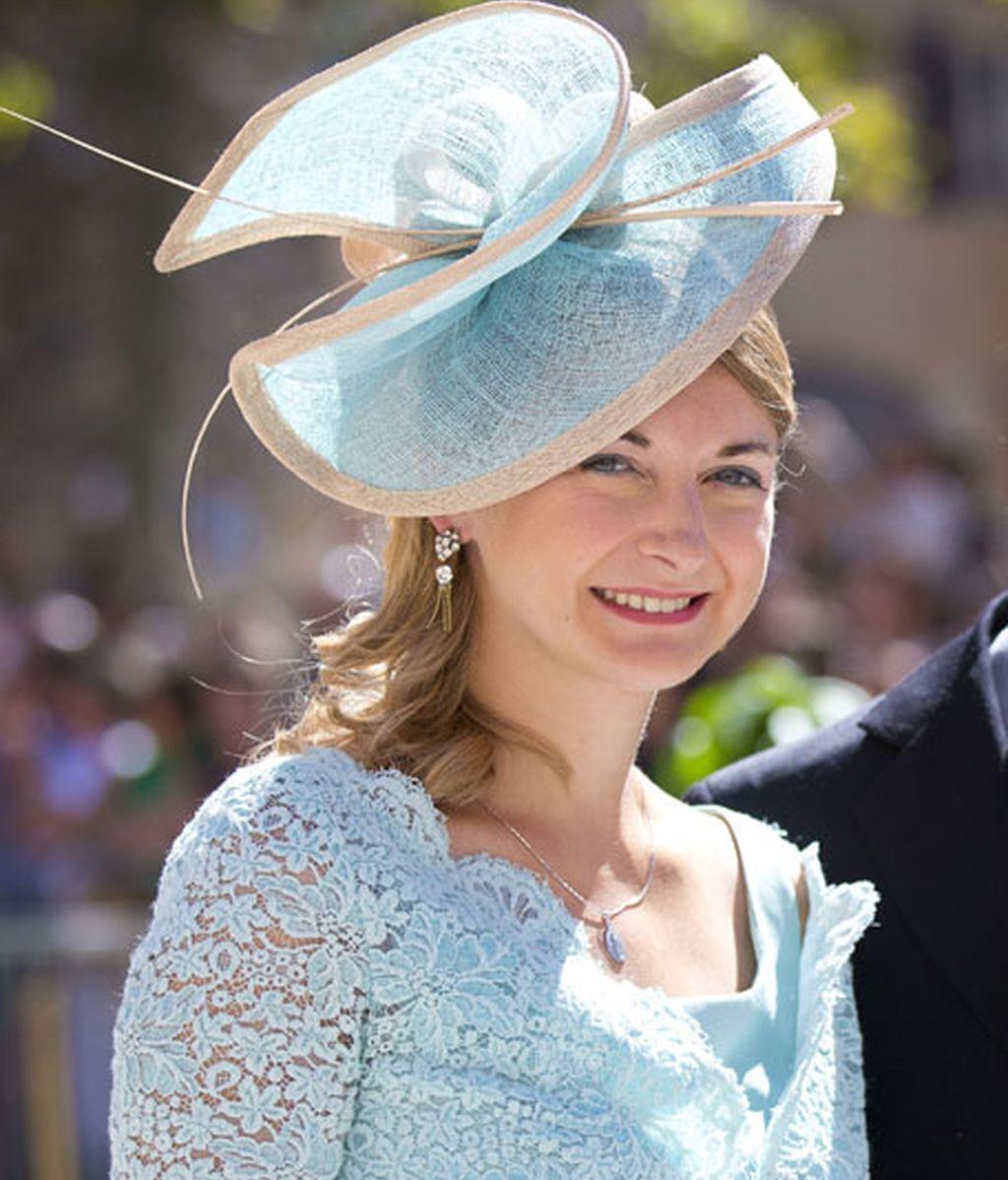 La princesa Estefanía de Luxemburgo
