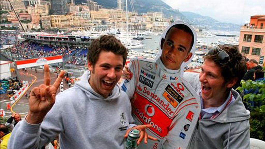 Hamilton ocupará el tercer puesto en la parrilla de salida