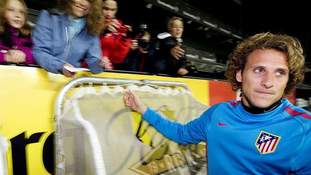 Forlán asegura que está preparado para ser titular ante el Rosenborg