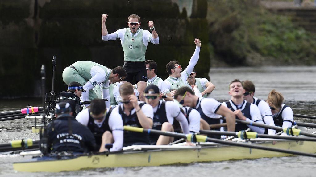 Cambrigde gana a Oxford en la regata más famosa del mundo (27/03/2016)