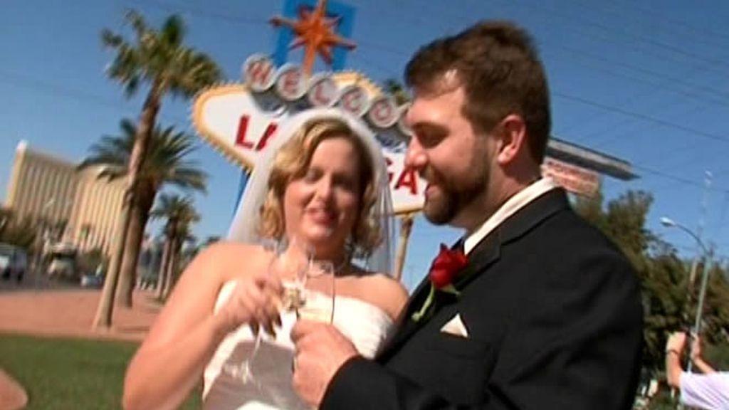 En Las Vegas hay bodas cada cinco minutos