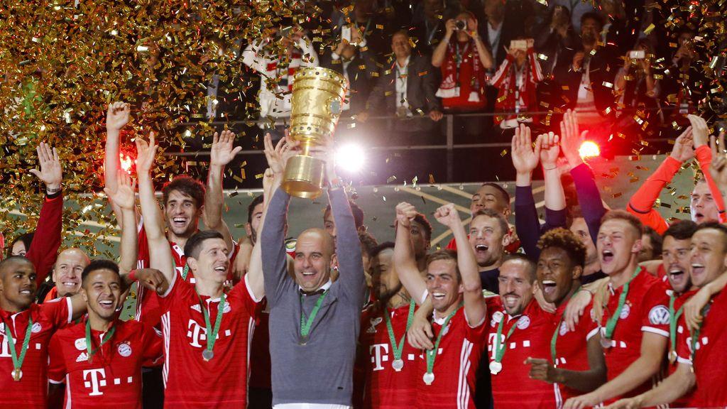 Guardiola se convierte en historia en el Bayern (21/05/2016)