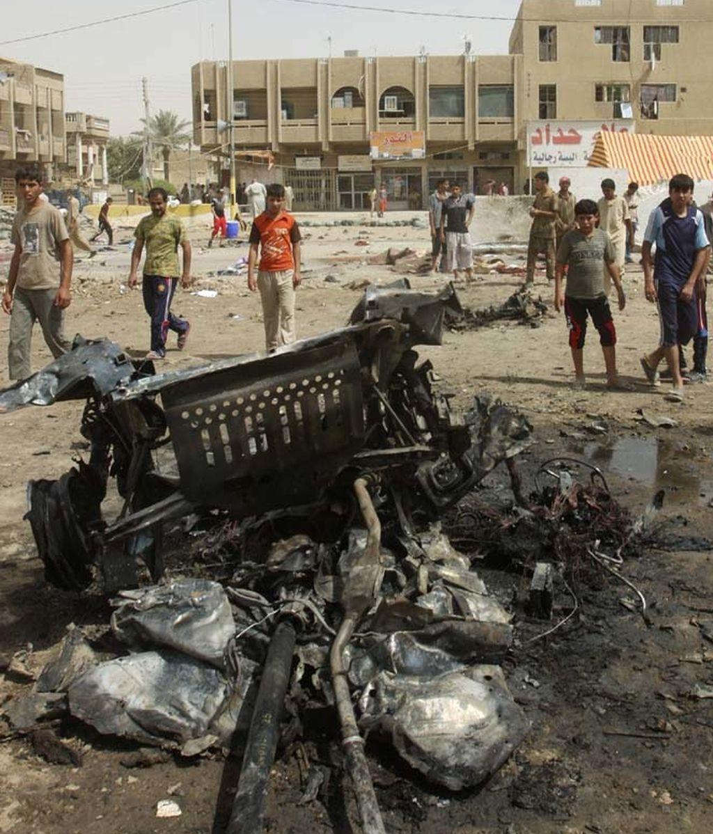 Oleada de atentados en Irak