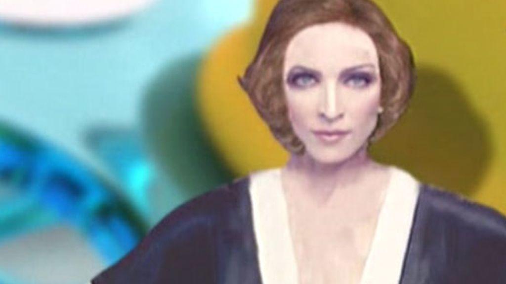 Cambiando el 'look' de Madonna