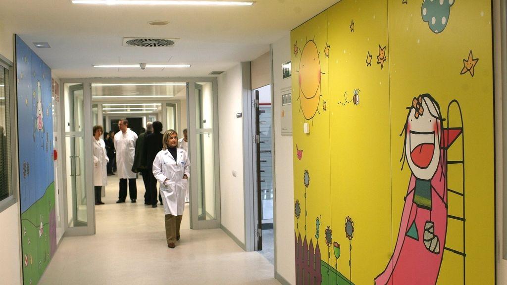 pasillo pediatría Río Hortega Valladolid