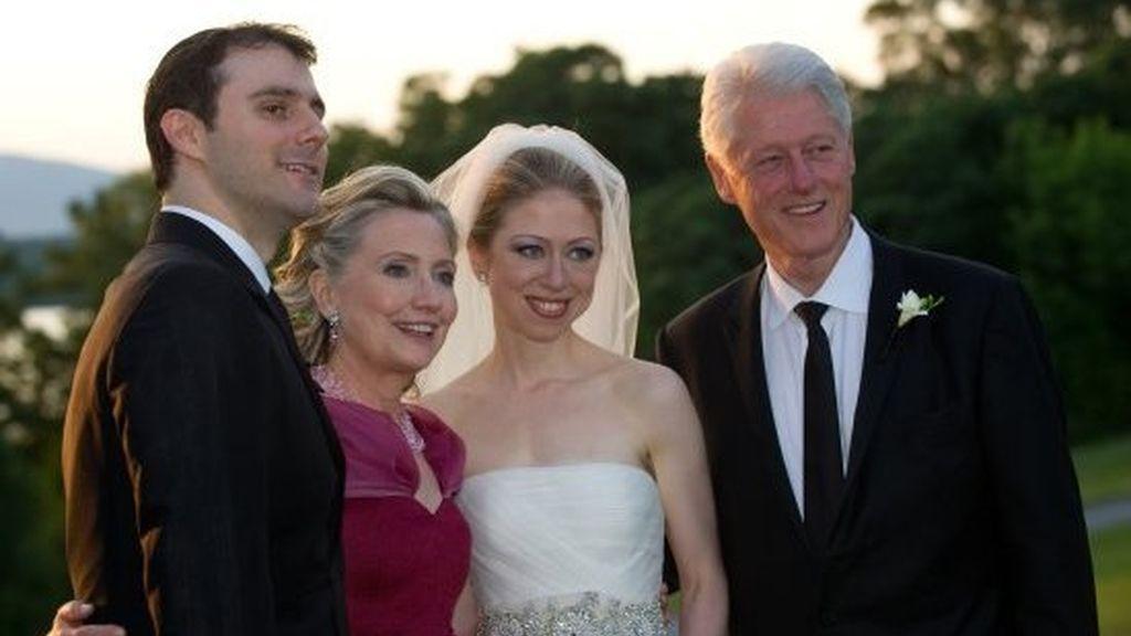La boda de Chelsea Clinton vs otros enlaces de recopetín