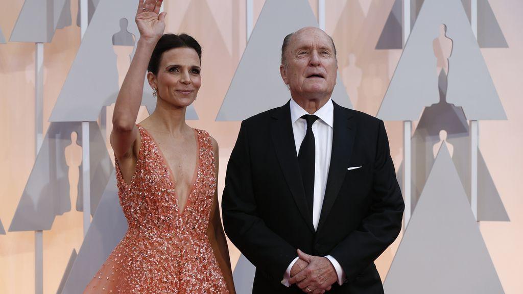 Robert Duvall y su mujer