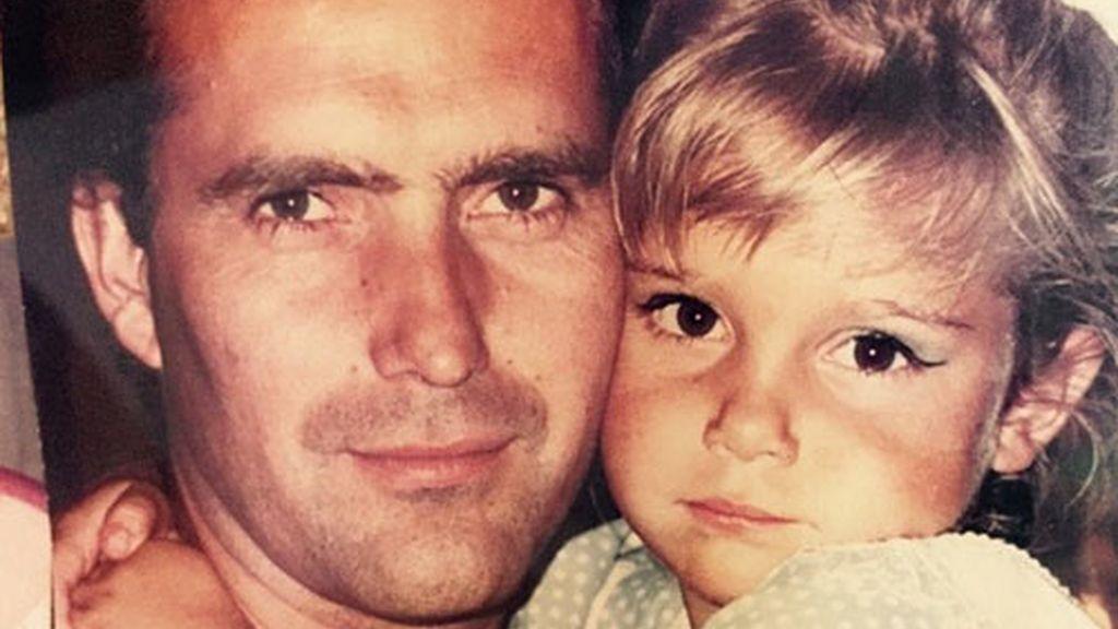"""Natalia Sánchez: """"Lo siento por el resto del planeta pero el mejor padre me tocó a mi!"""