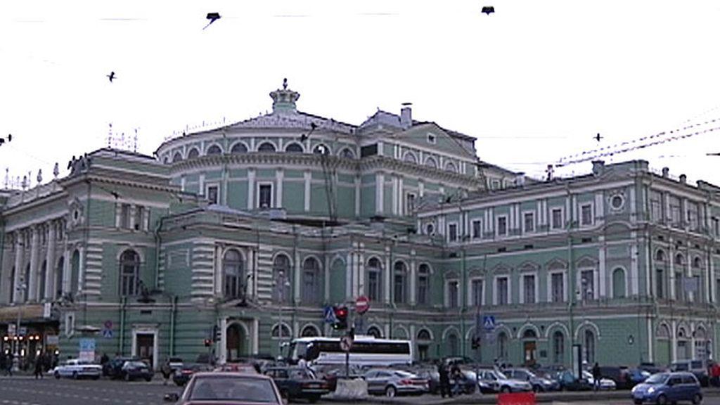 Fachada del Teatro Marinski
