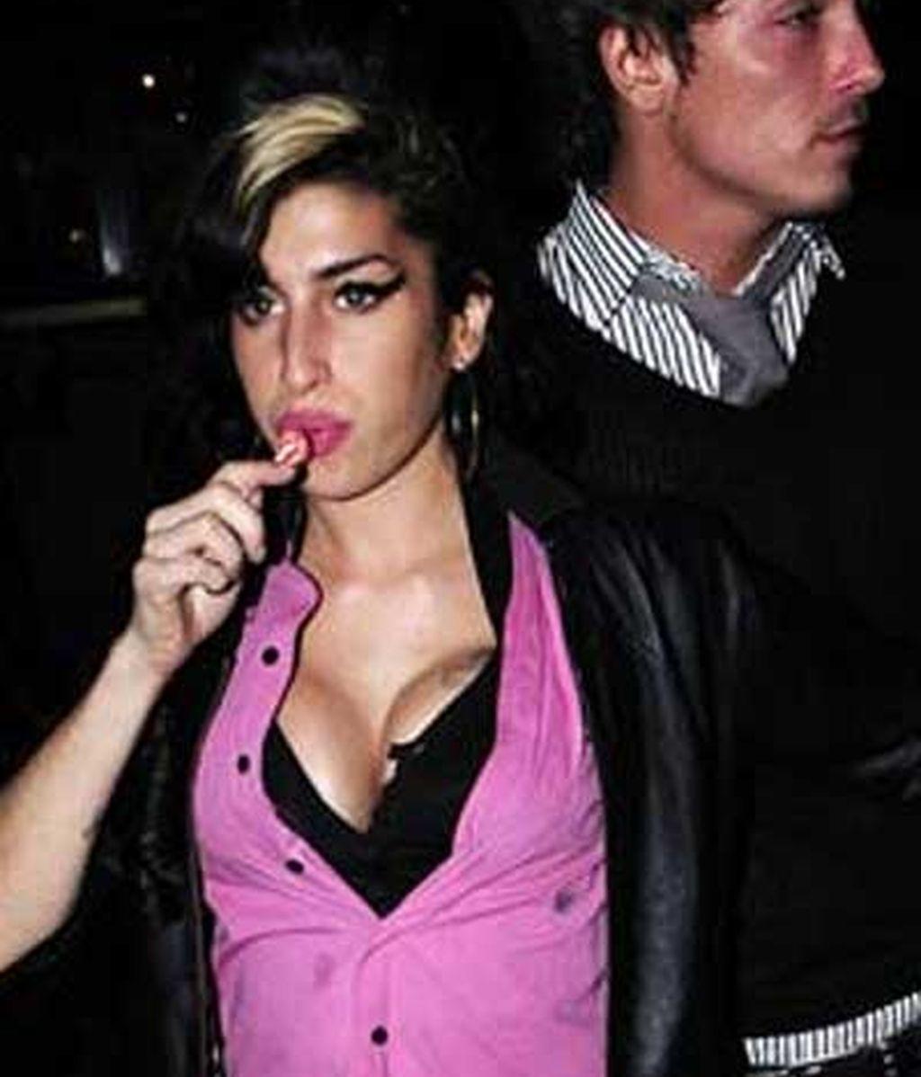 Los nuevos pechos de Amy Winehouse