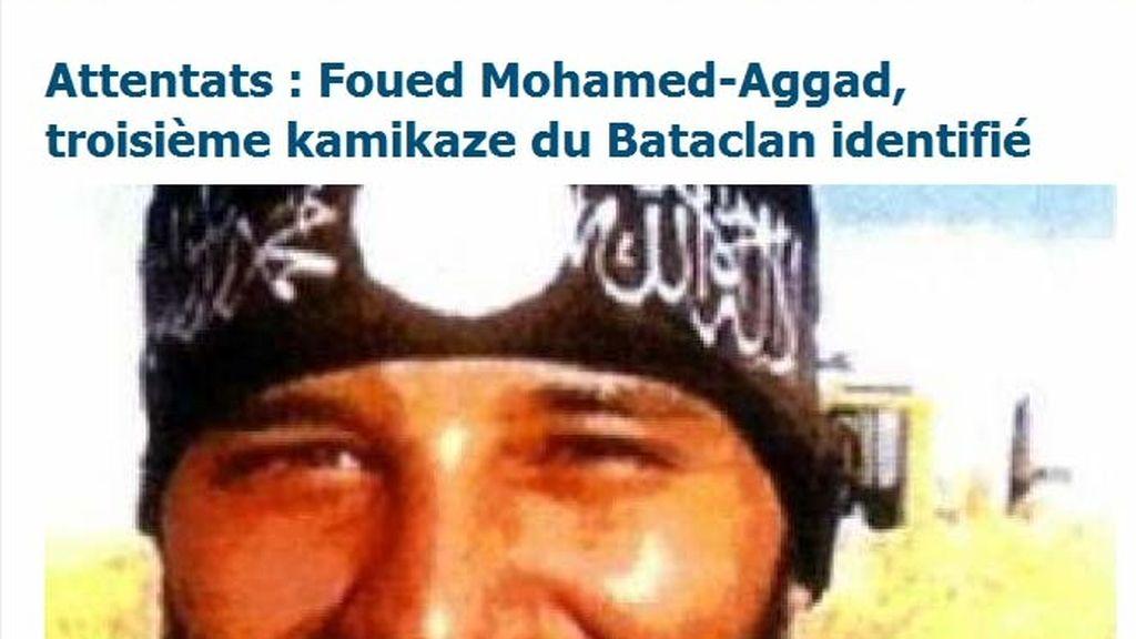 Foued Mohamed-Aggad, identificado como el tercer terrrorista del Bataclan