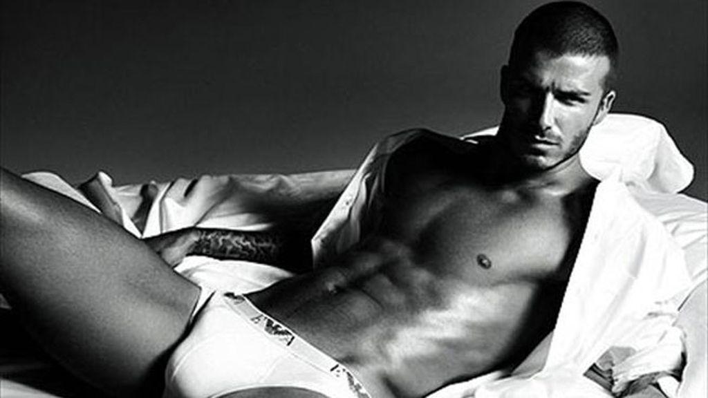 David Beckham para Armani