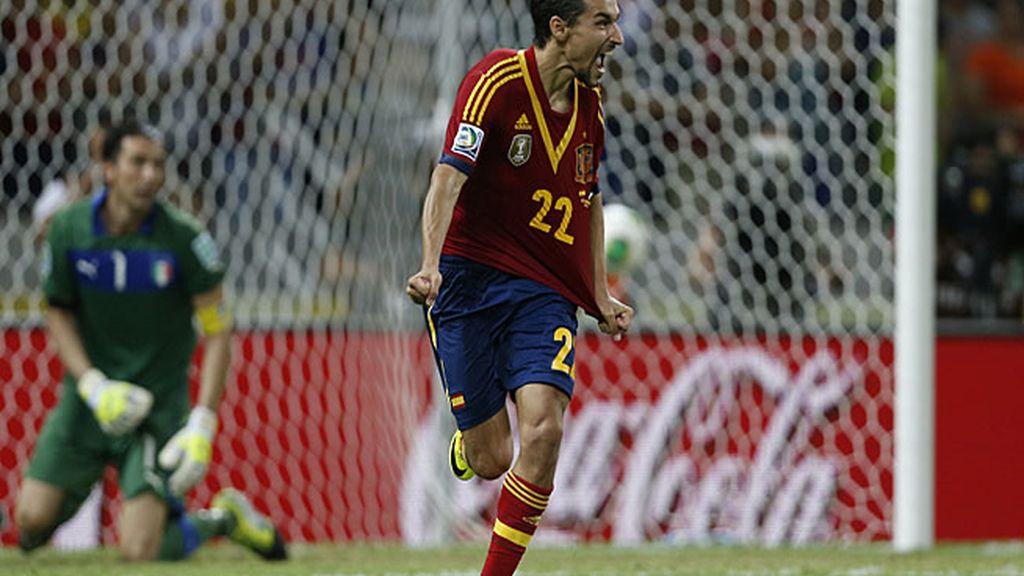 Jesús Navas dio el pase a España marcando el séptimo penalti