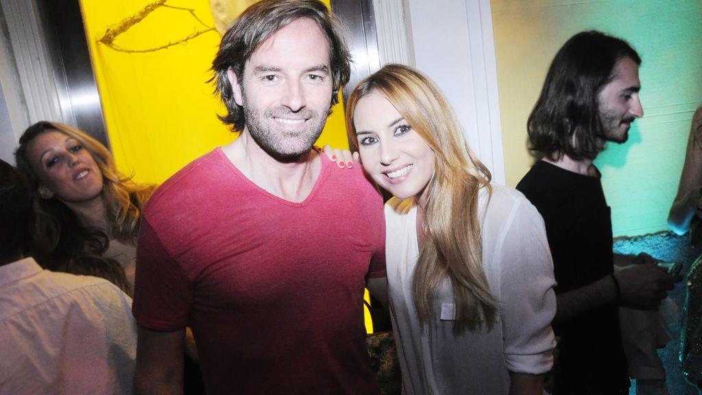 Berta Collado y su novio, José Ramón Cisneros