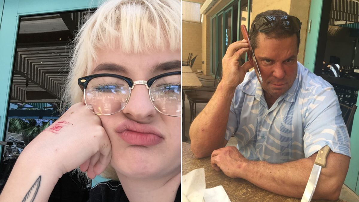 Así reacciona un padre al tatuaje de su hija