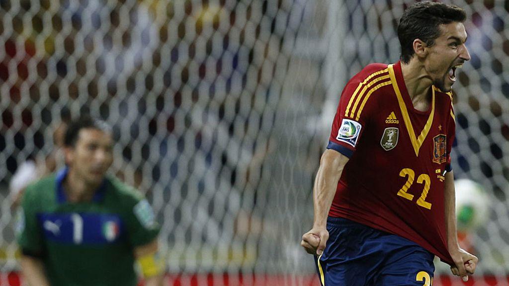 Jesús Navas marca el penalti definitivo ante Italia