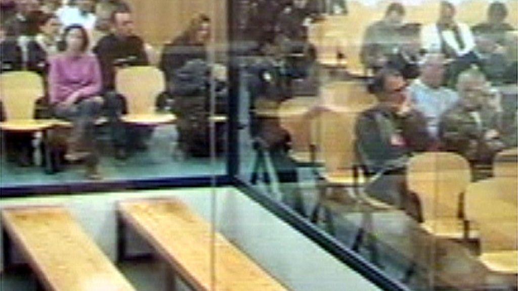 Juicio contra los acusados de EKIN