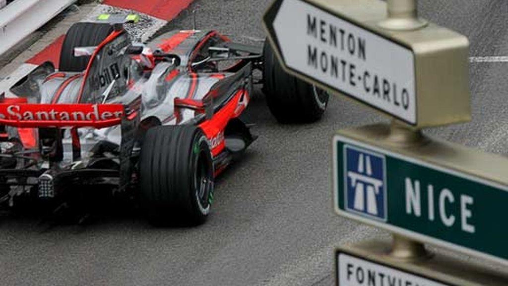 Tercera sesión de entrenamiento en el Gran Premio de Mónaco
