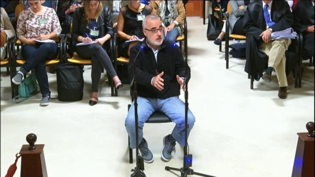 Turno de Alfonso Basterra en el juicio por el asesinato de su hija Asunta