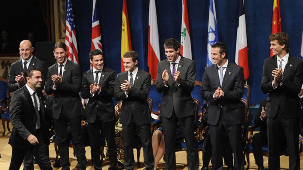 La selección española aporta 7 candidatos al balón de oro