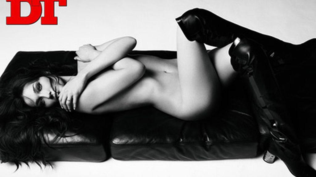 La modelo Carla Bruni