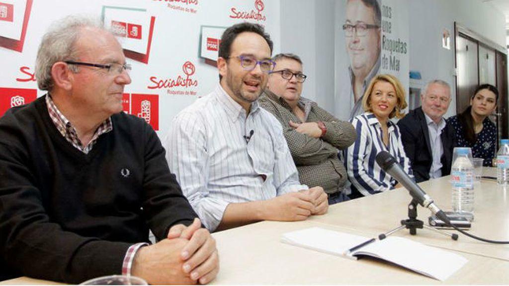 Antonio Hernando (PSOE) en Almería