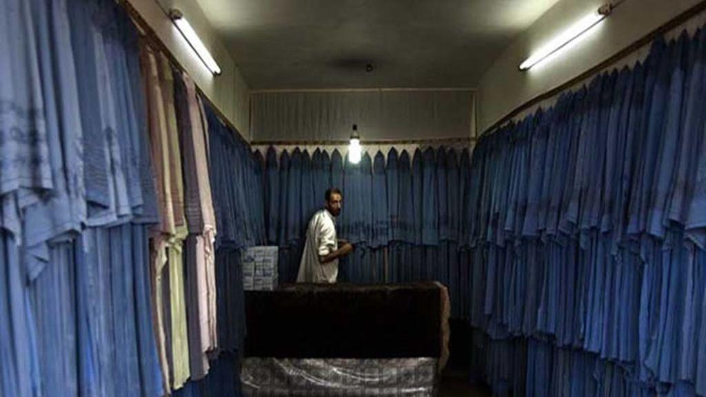 Una tienda de burkas