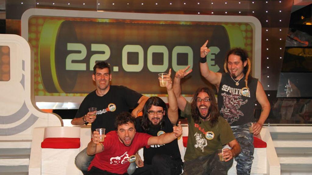 Los 'RockFest' se llevan el segundo bote: 22.000 euros