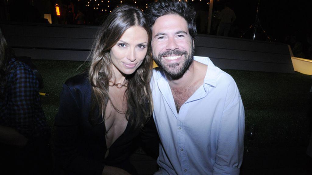 Almudena Fernández junto a Miguel Carrizo