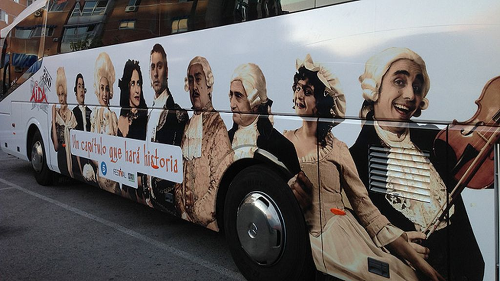 telecinco.es acompaña a los actores de 'Aída' al festival de Vitoria