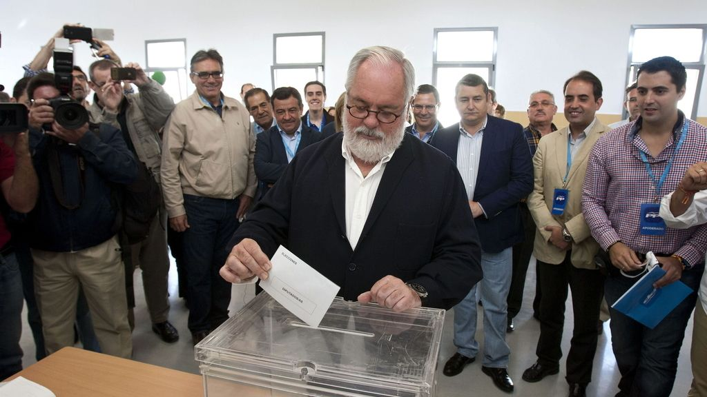 "Cañete confía en que España esté ""a la cabeza de participación de la Unión Europea"""