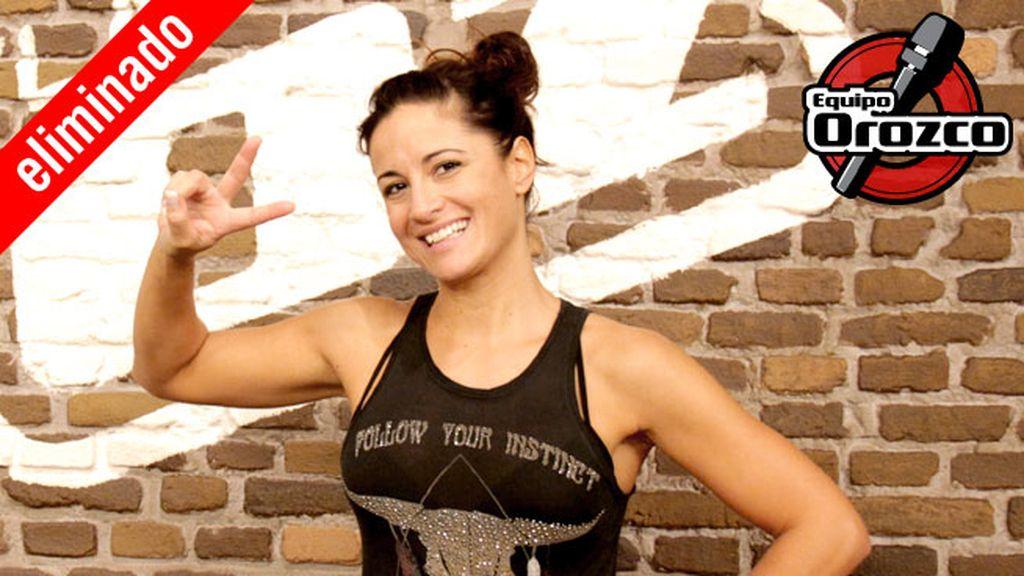 Sandra Morales, 36 años, equipo Orozco | Eliminada