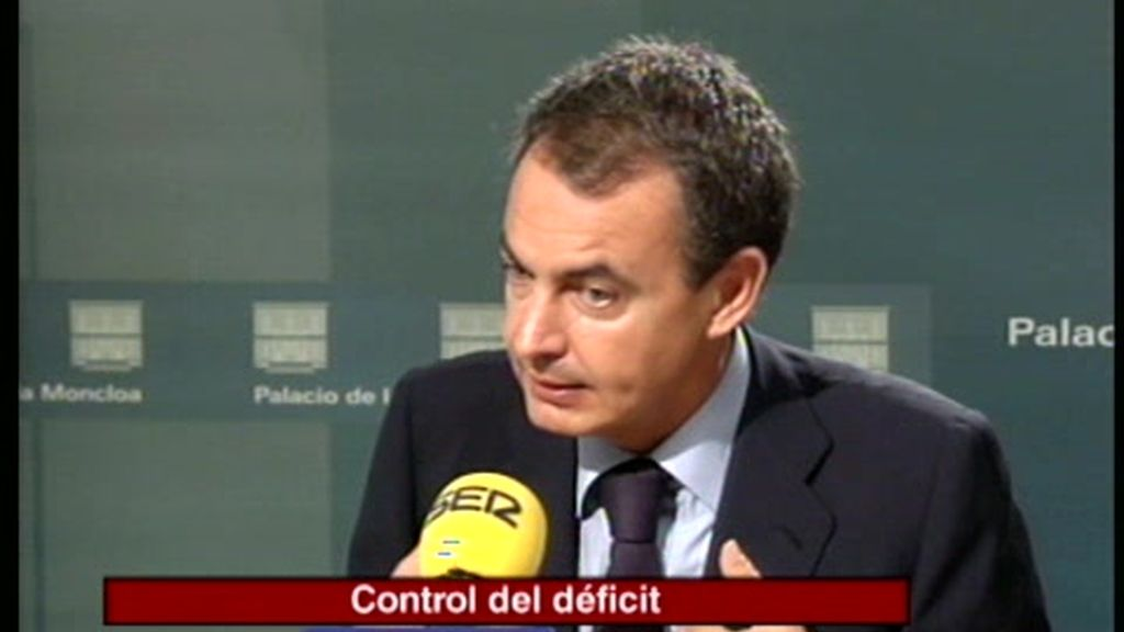 Entrevista a Zapatero en la Cadena SER