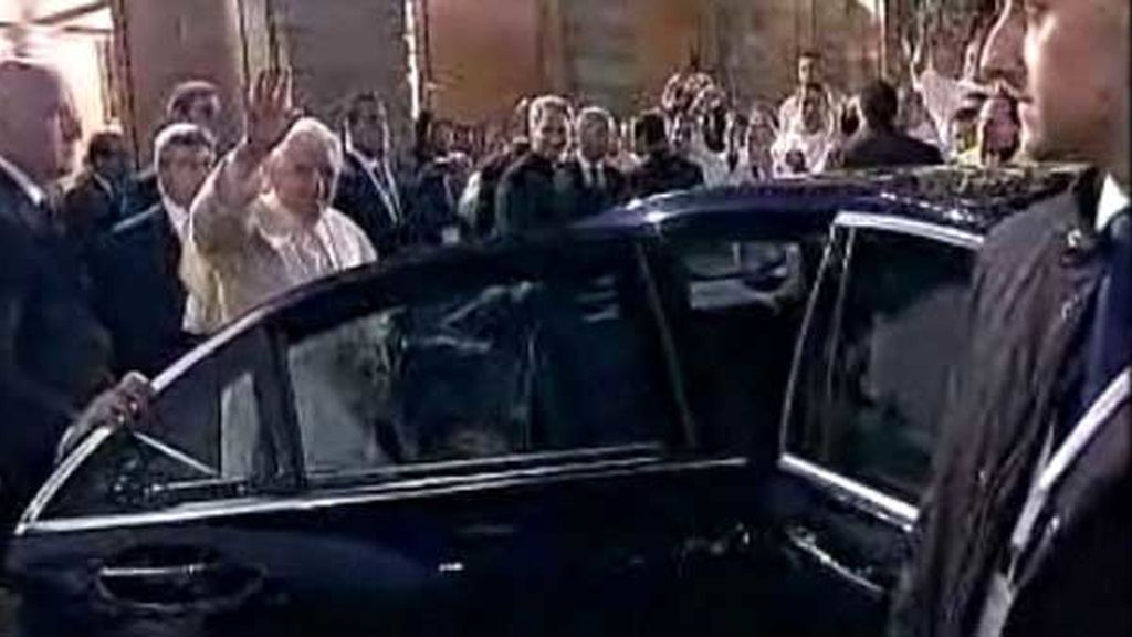 Benedicto XVI visita España