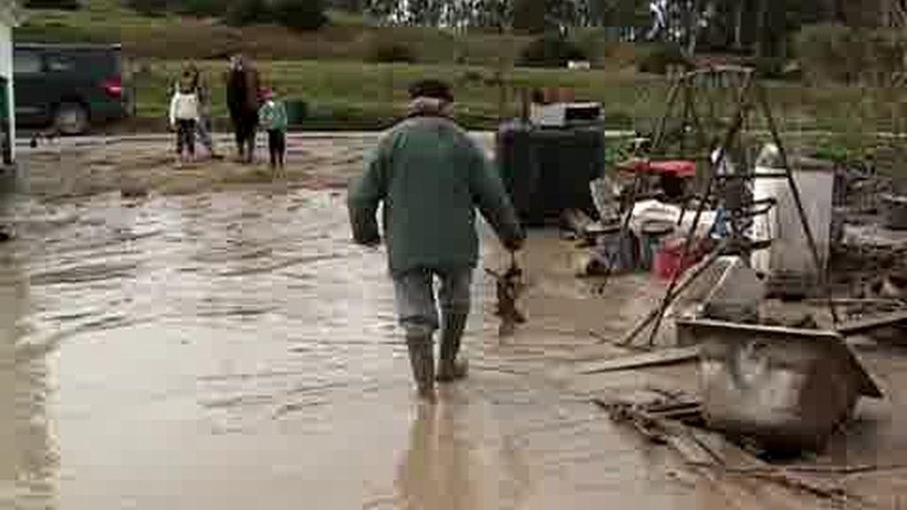 La lluvia sigue haciendo estragos en Andalucía