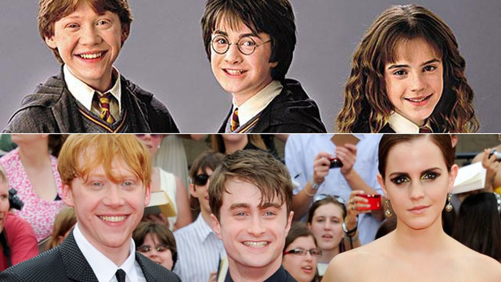 Harry, Hermione, Ron... así han cambiado más allá de la mítica serie de magos
