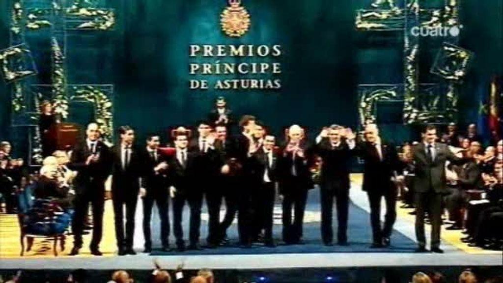 El Premio Príncipe de Asturias es para la selección