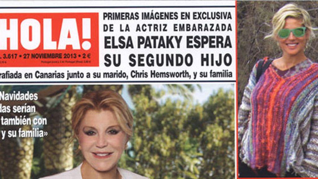 Elsa Pataky espera su segundo hijo