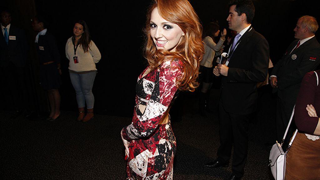 Cristina Castaño apostó por el color con este sexy vestido