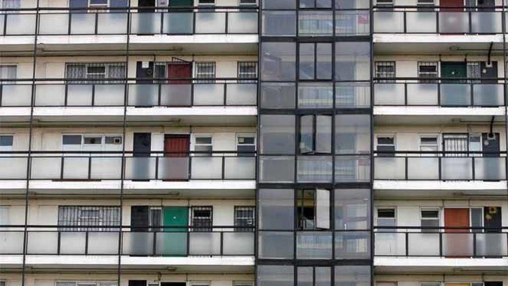 Bloque de apartamentos en Londres