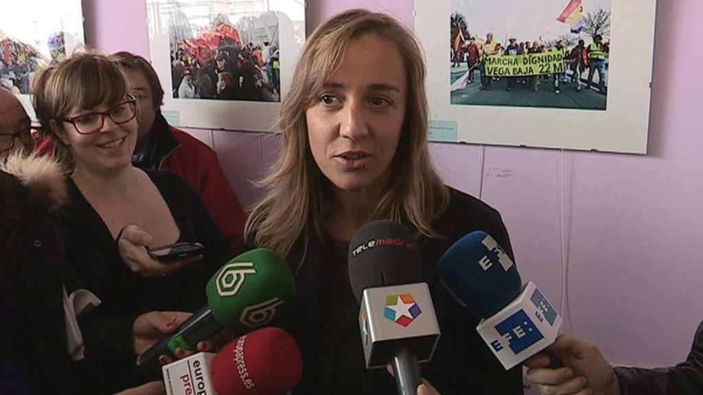 Tania Sánchez, candidata de IU para presidir la Comunidad de Madrid